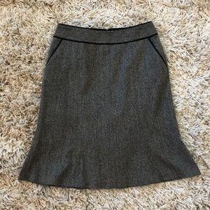 Grey tweed pencil skirt from Semantiks